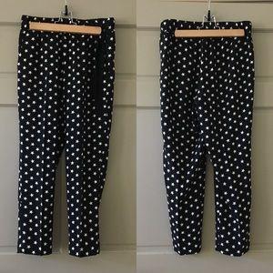 J. Crew star pants